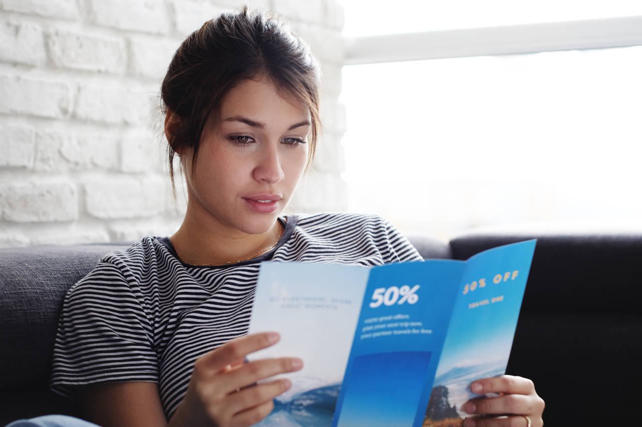 Ulotki reklamowe – jak je zaprojektować i gdzie zamówić?